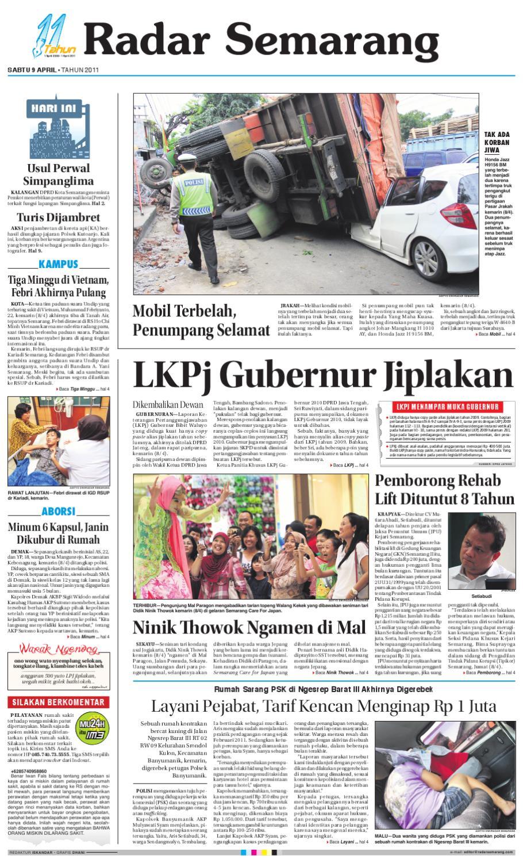 Radar Semarang Sabtu 9 April 2011 By Rs Issuu