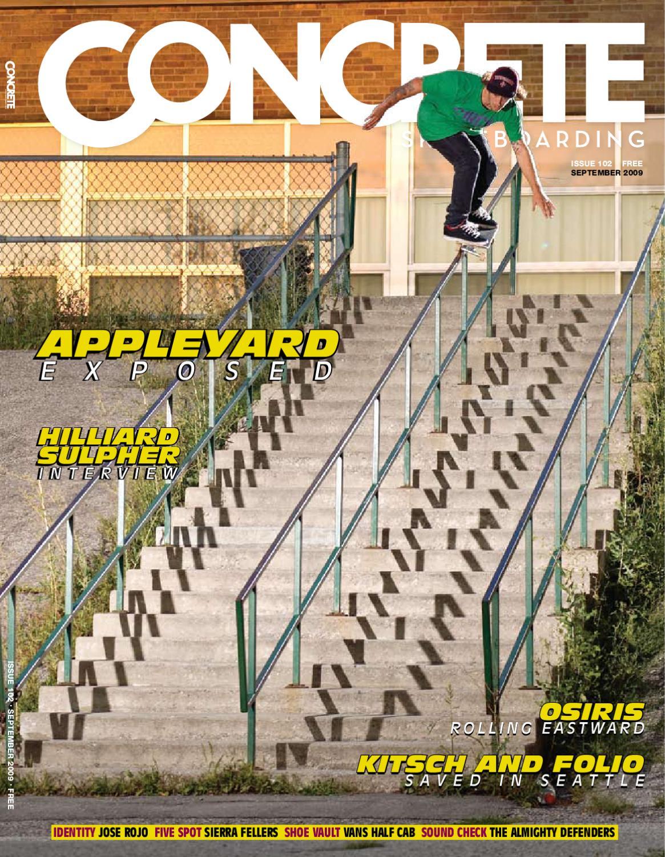 concrete skateboarding issue 102 - Skateboard Bank Beine