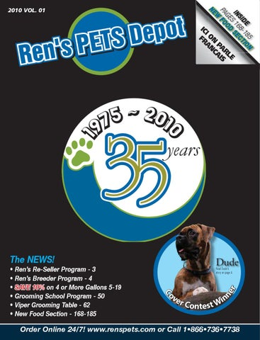 8d7ec9534e Ren s Pets Depot 2010-2011 Catalogue by Ren s Pets Depot - issuu