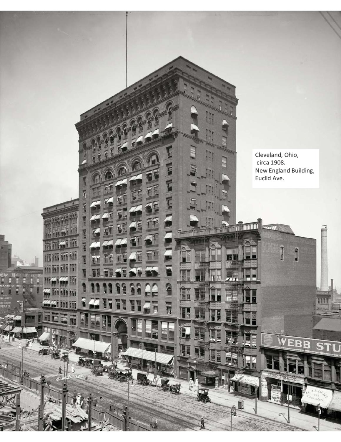 Pictures Of Cleveland In The Early 1900 S By Wolfgrrl Issuu