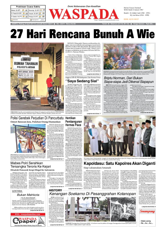 Waspada, Sabtu 9 April 2011 by Harian Waspada - issuu