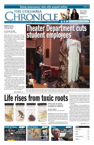 caaf94e1 The Columbia Chronicle April 11, 2011 by The Chronicle of Columbia ...