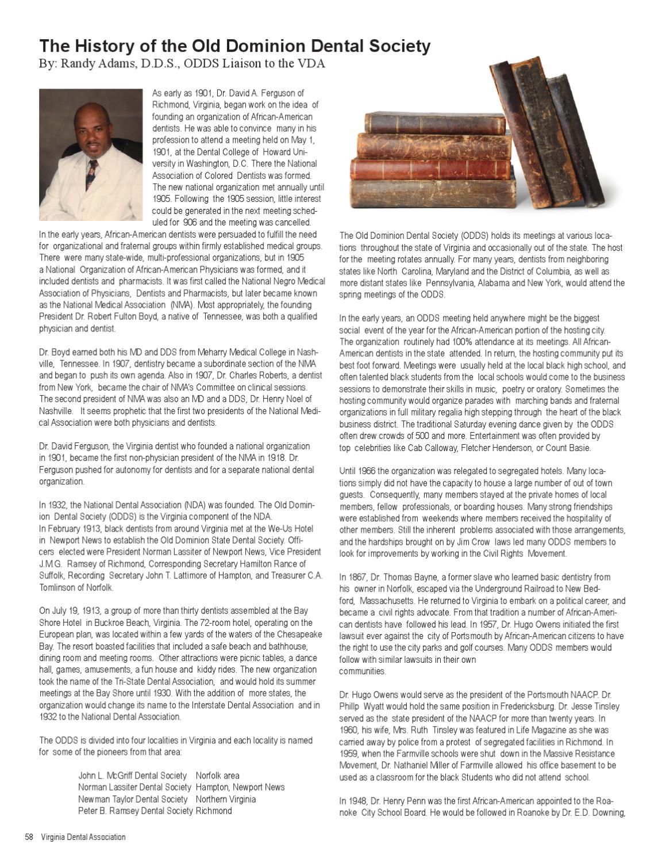 VDA Journal - Vol 88 Number 2 April-June 2011 by Virginia
