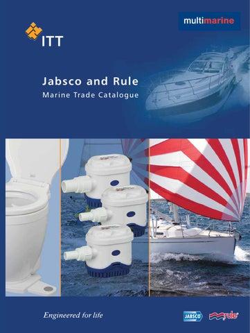 Jabsco & Rule Catalog by Multimarine, Unipessoal Lda. - issuu on