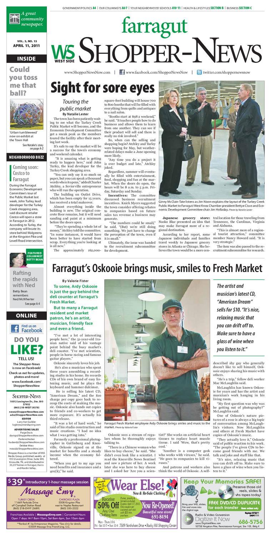 ff3e7b8f93 Farragut Shopper-News 041111 by Shopper-News - issuu