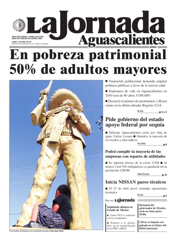 LJA11042011 by La Jornada Aguascalientes - issuu