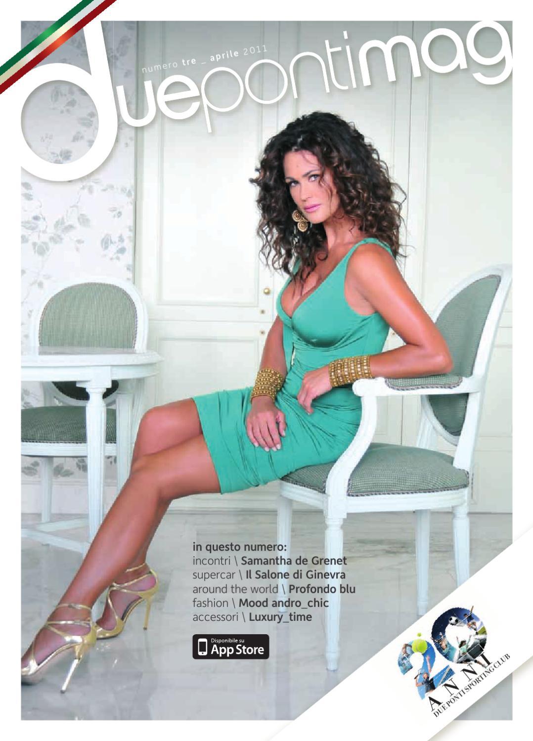 cab2180f1afd5 Due Ponti Magazine Aprile 2011 by Luana Briglia - issuu