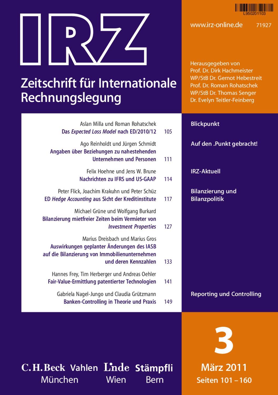 IRZ - Heft 3 2011 by Linde Verlag GmbH - issuu