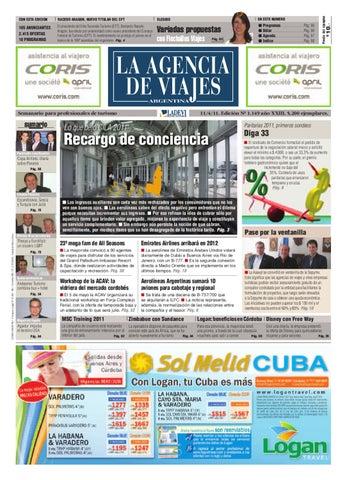 La Agencia de Viajes Argentina Nº 1.149 by La Agencia de Viajes - issuu