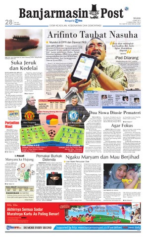 Banjarmasin Post Edisi Cetak Selasa 12 April 2011 by Banjarmasin ... f3620facab