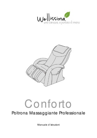 Conforto Wellissima Istruzioni by Wellissima Italia - issuu