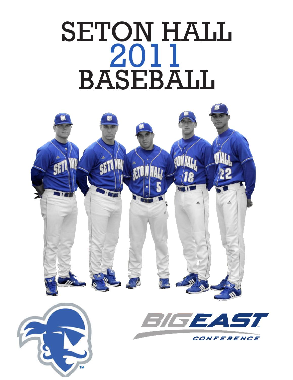 2011 Seton Hall Baseball Media Guide By Seton Hall Pirates Issuu