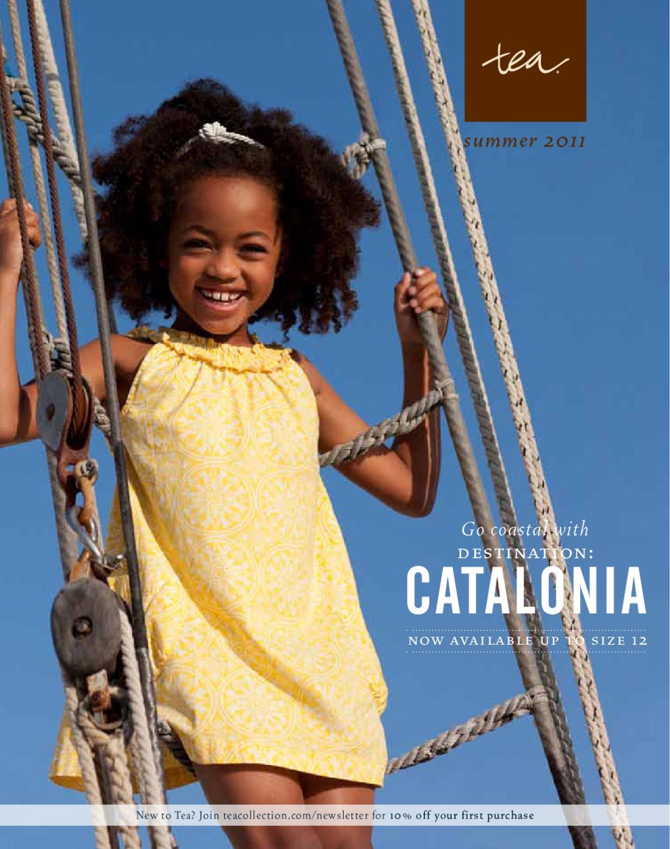 5346c773fec9 Tea Collection - Go Coastal with Destination: Catalonia (Summer 2011 ...