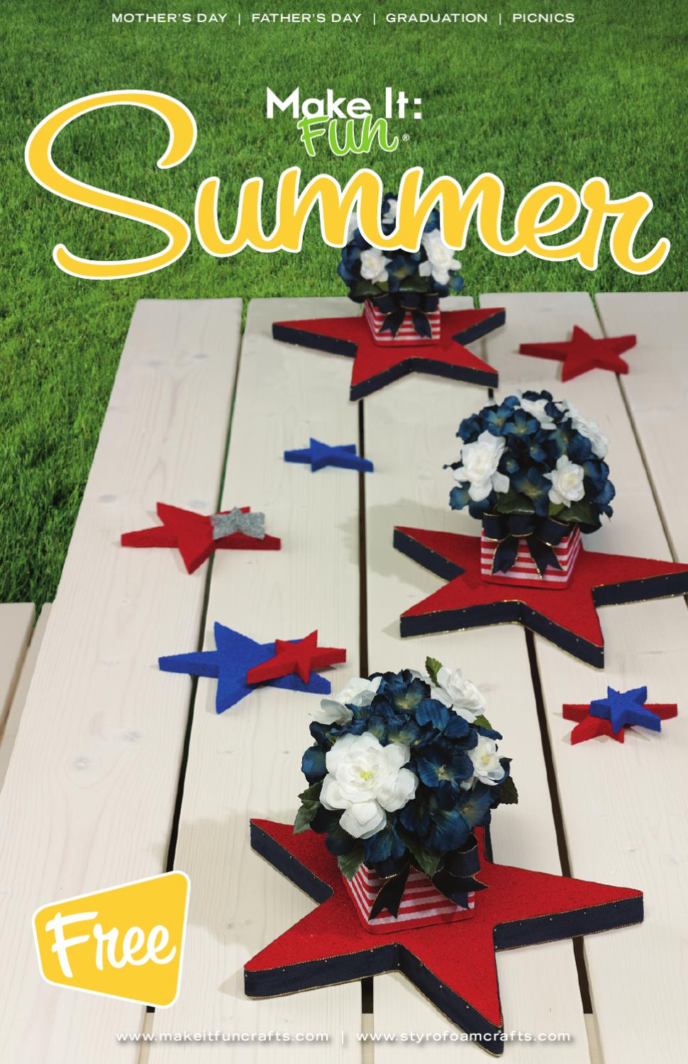 Make it fun summer by michael van houten issuu for Michaels arts and crafts virginia beach