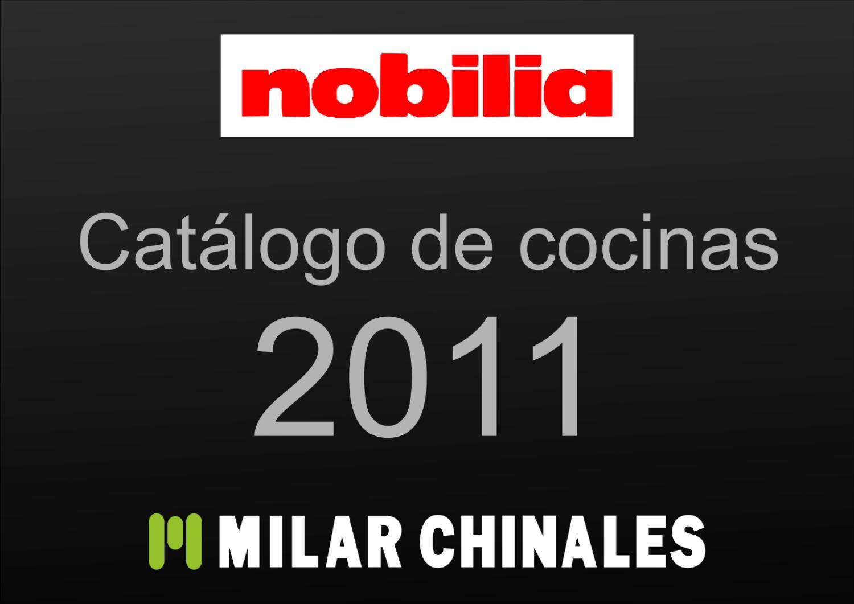 Cat logo de cocinas nobilia abril 2011 by hogatica issuu - Milar chinales ...