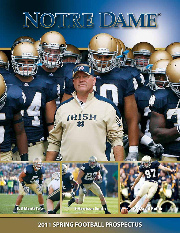 Chris Brown Notre Dame Fighting Irish Football Jersey Navy Stripe
