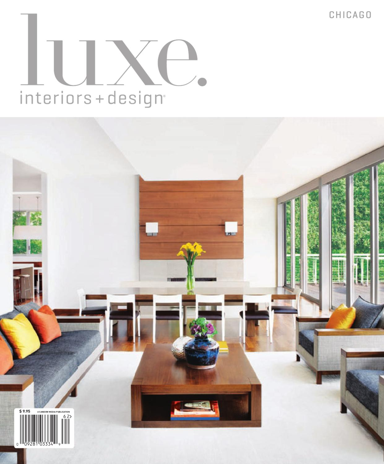 LUXE Interior + Design Chicago By Sandow Media