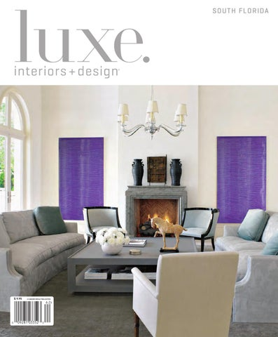 LUXE Interior Design Florida By Sandow Media