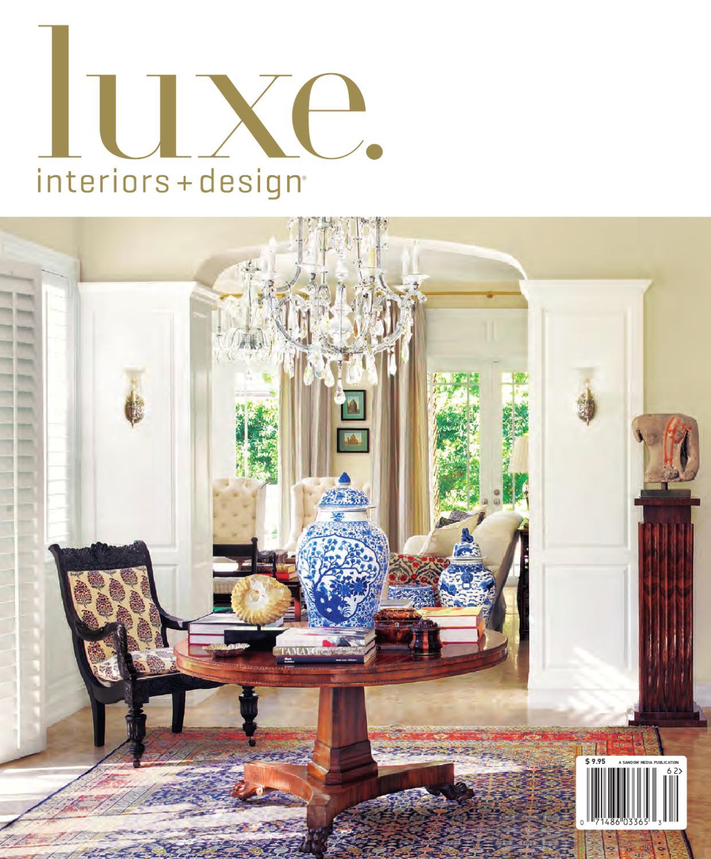 LUXE Interior Design National By Sandow Media