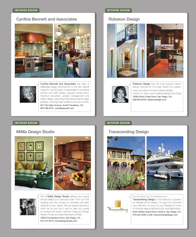 LUXE interior + Design Orange County by sandow media - Issuu