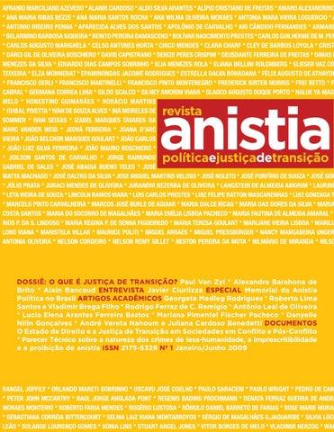 517fa839052 Revista da Anistia – Edição 01 by Azimute Comunicação - issuu