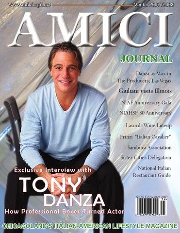 Tony Danza By Amici Journal   Issuu