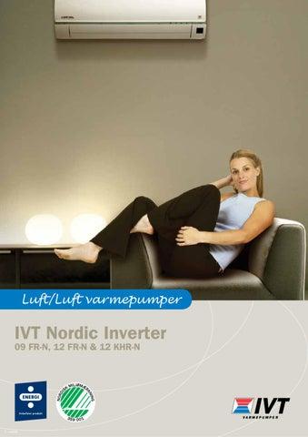 Ivt nordic inverter 12 khr-n