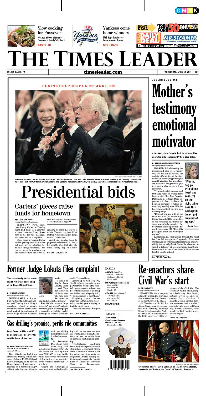 afa6103e5f046c Times Leader 04-13-2011 by The Wilkes-Barre Publishing Company - issuu