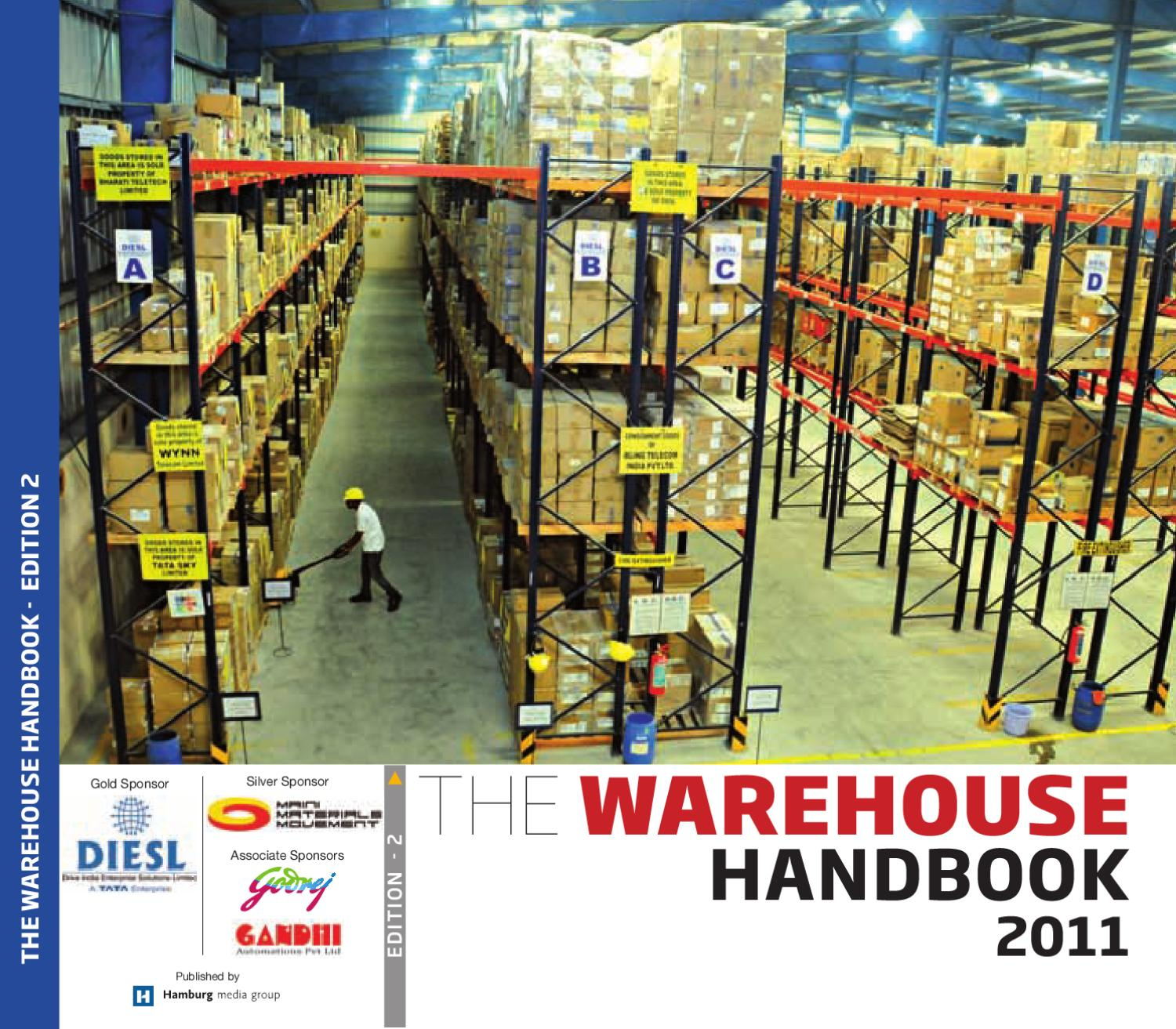 The Warehouse Handbook 2011 By Frewin Francis Issuu