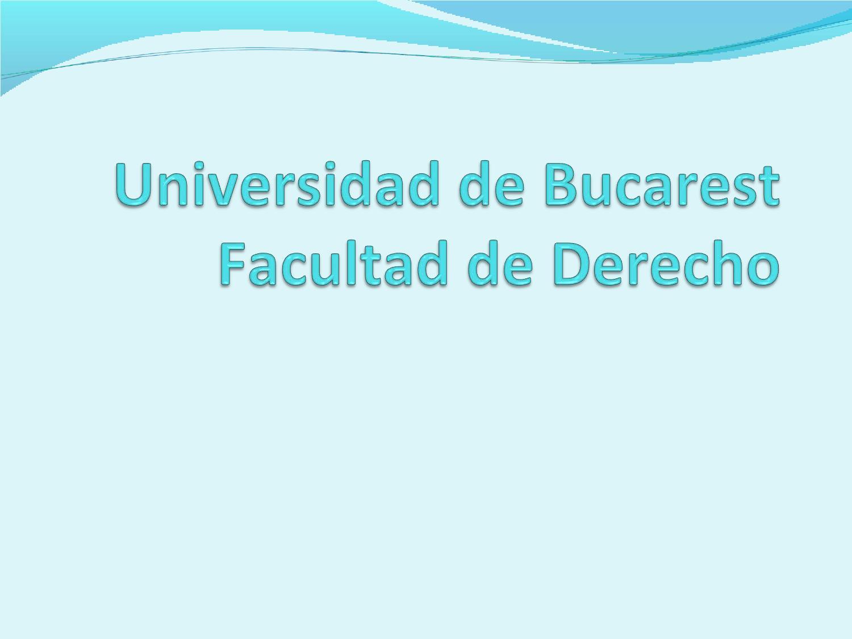 Presentaci n universidad de bucarest cristina rotaru by for Universidad de valencia master