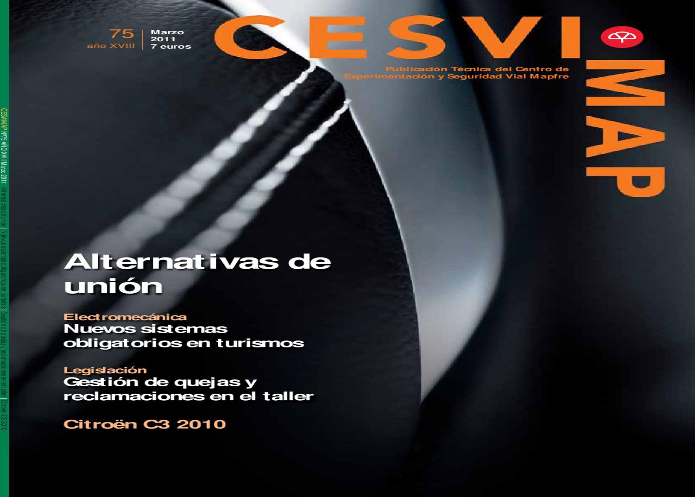 Revista CESVIMAP 75 by CESVIMAP - issuu