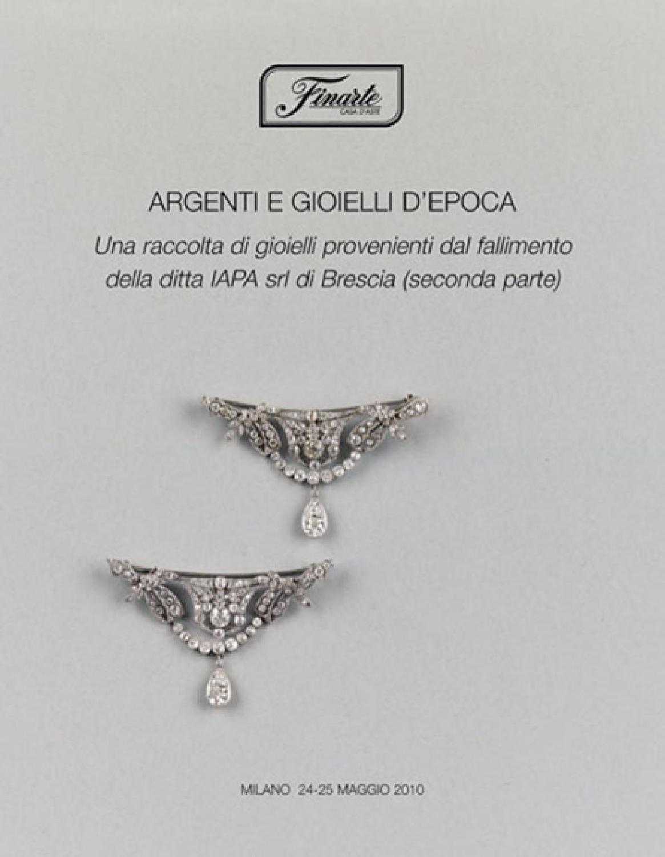 buono sconto migliore collezione Vendita scontata 2019 Argenti e gioielli d'epoca by web finarte - issuu
