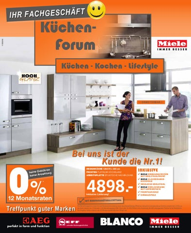 k chen forum minden by dera medien issuu. Black Bedroom Furniture Sets. Home Design Ideas