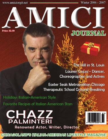 Chazz Palminteri By Amici Journal Issuu
