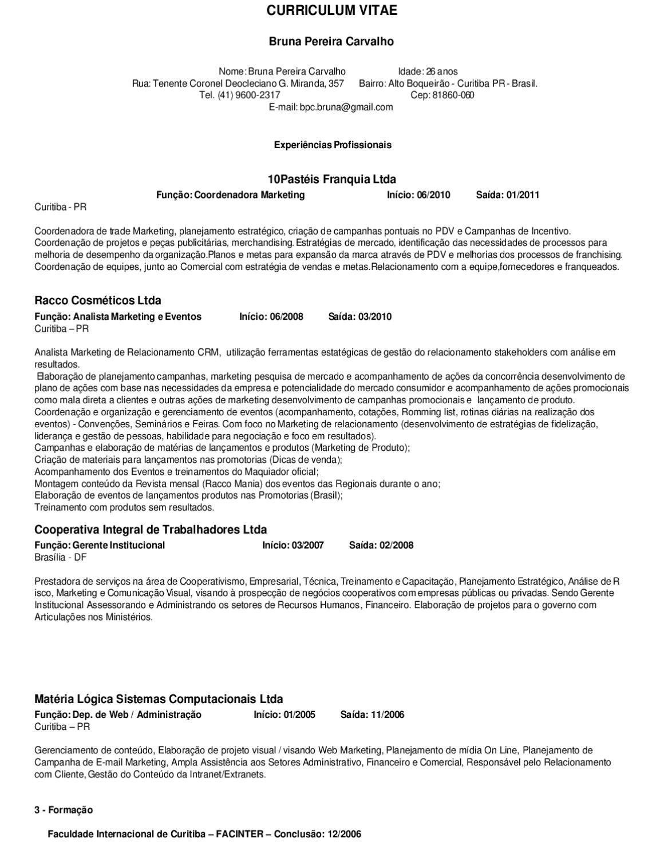 Curriculum By Revista Grandes Formatos Issuu