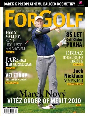 cebf15f1fdf Byli jsme v JAR • Jack Nicklaus v Senici • 85 let GC Praha • Holy Valley v  Mnichově • Marek Nový – vítěz OM 2010
