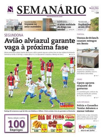 a5cd4241c3 13 04 2011 - JORNAL SEMANÁRIO by jornal semanario - issuu