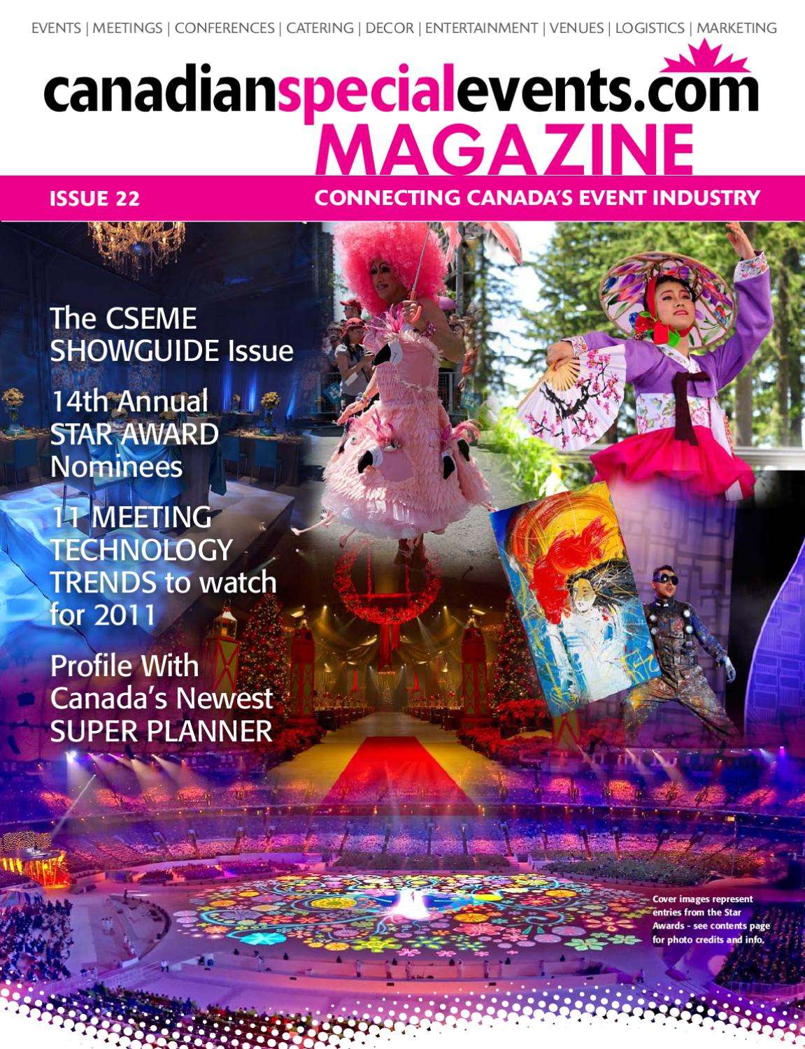 ff5fb0eaf3dc canadianspecialevents.com Spring Print Issue 2011 by Canadian ...