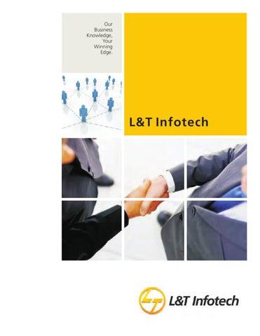L&T Infotech Corporate Brochure by L&T Infotech - issuu