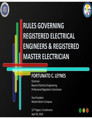 Significant changes to the philippines electrical code 2009 republic act 7920 keyboard keysfo Images