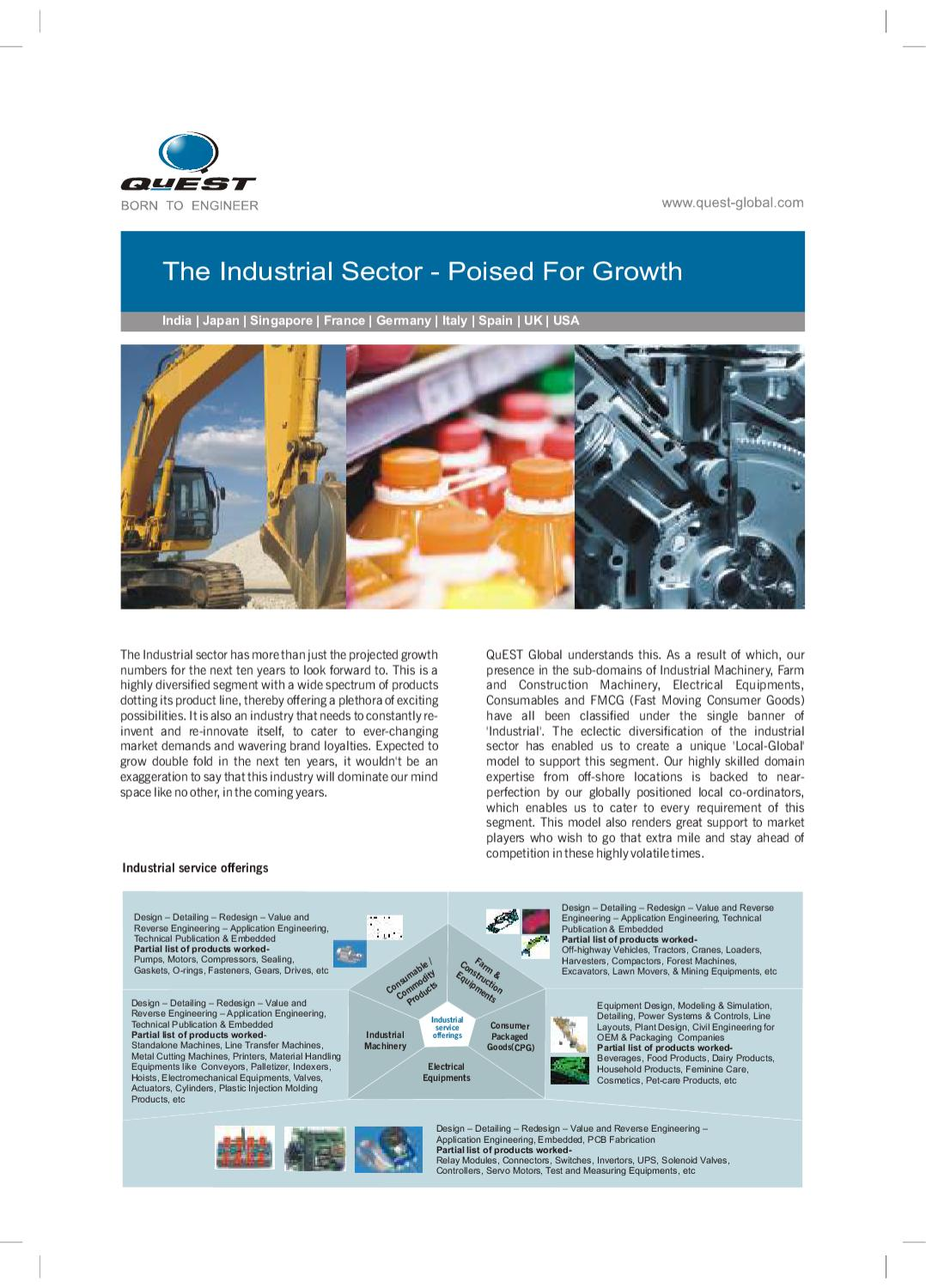 Industrial Capabilities Overview By Quest Global Issuu