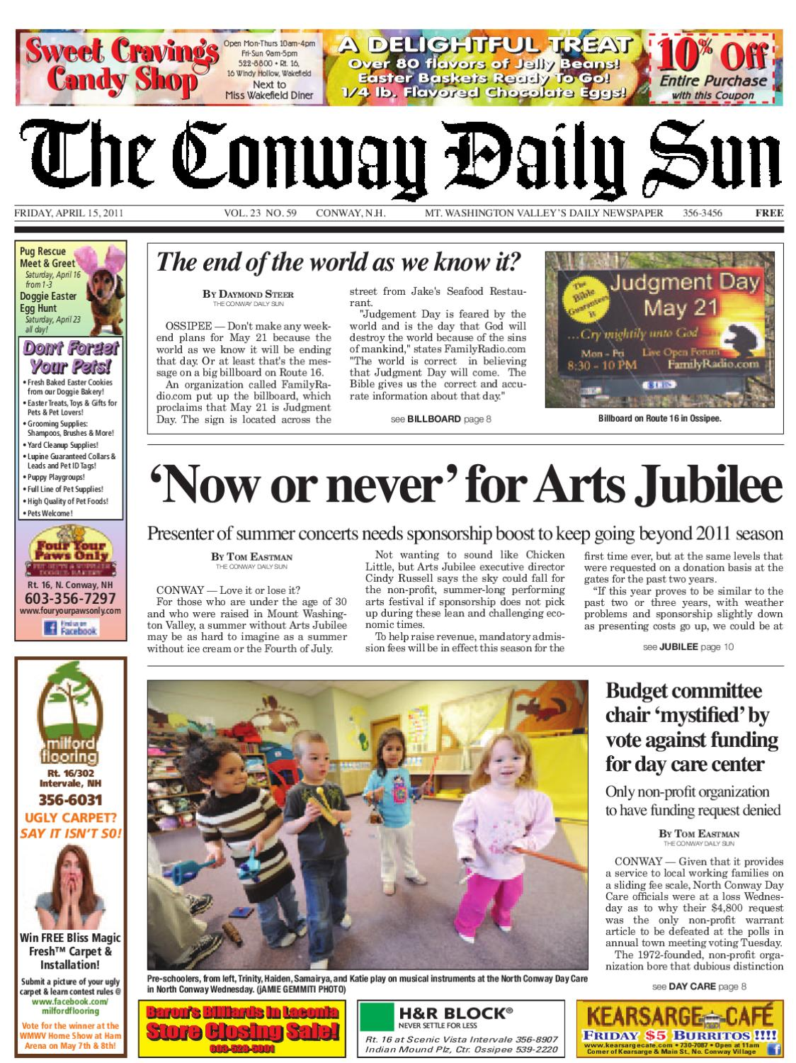 9706a547889489 The Conway Daily Sun
