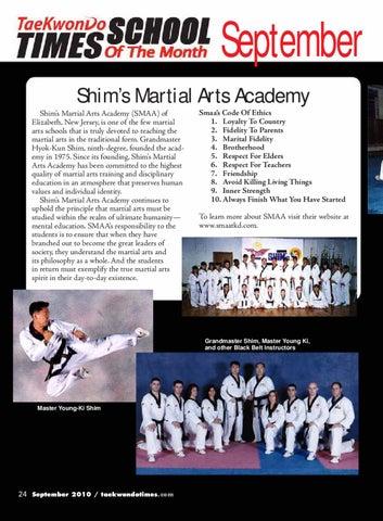 177september2010dmag By Taekwondo Times Issuu
