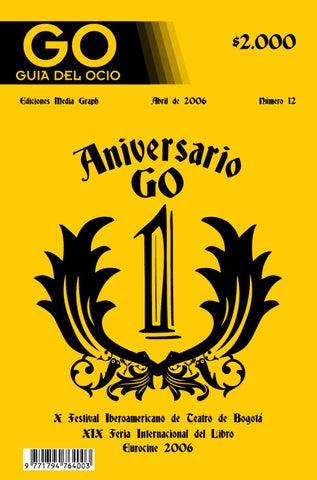 GO Guía del Ocio / Edición 12 by GO Guía del Ocio - issuu