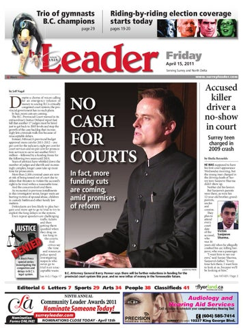 Fri Apr 15 2011 Leader by Surrey Leader - issuu b60f7745738cb