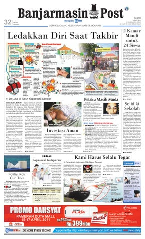Banjarmasin Post Edisi cetak Sabtu 16 April 2011 by Banjarmasin Post ... 112daadb81