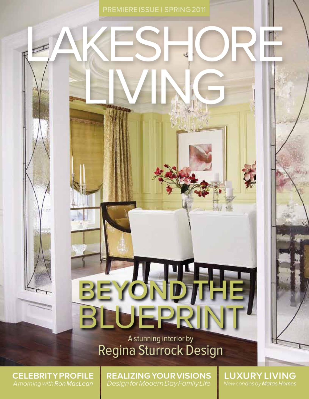 Regina Sturrock Design Inc lakeshore living magazine (spring 2011_ by it for business
