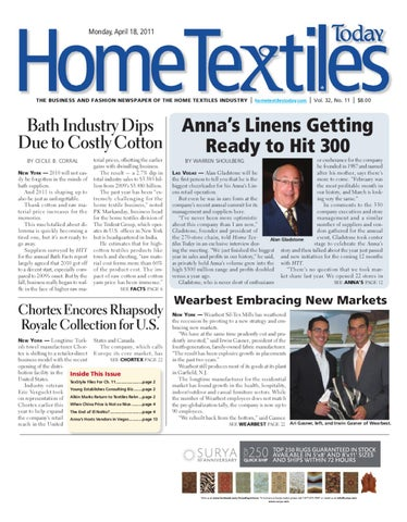 home textiles today april 18th issue