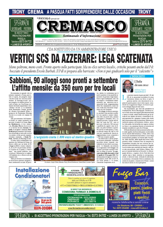 Il Piccolo del Cremasco by promedia promedia - issuu ef2a4f83dc8f