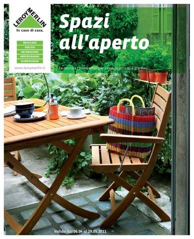Leroy merlin giardino by gaetano nicotra issuu for Sdraio giardino leroy merlin